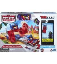 Набор Angry Birds Transformers Telepods Гоночный трэк Оптимус Прайма