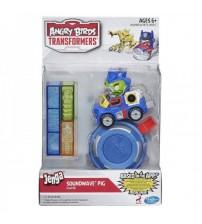 Набор  Angry Birds Transformers Jenga (Саундвейв) с катапультой