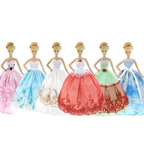Набор из 5 бальных платьев