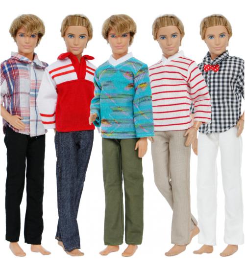 Набор из 5 вечерних комплектов одежды для Кэна