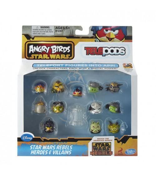 Набор Angry Birds Star Wars Rebels Heroes & Villains