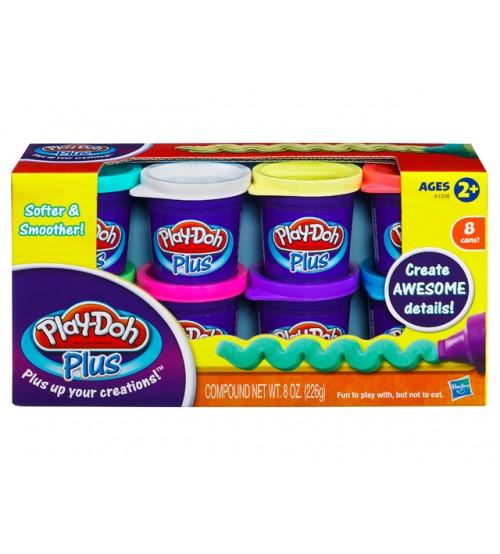 Набор из 8 банок Plus Play-Doh