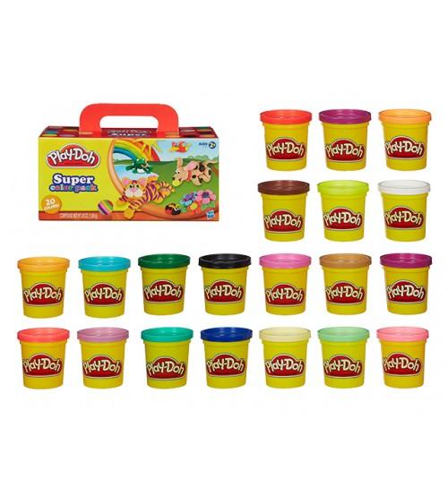 Набор пластилина 20 банок Play-Doh