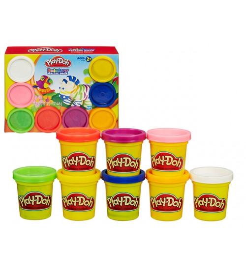 Набор пластилина 8 баночек Play-Doh