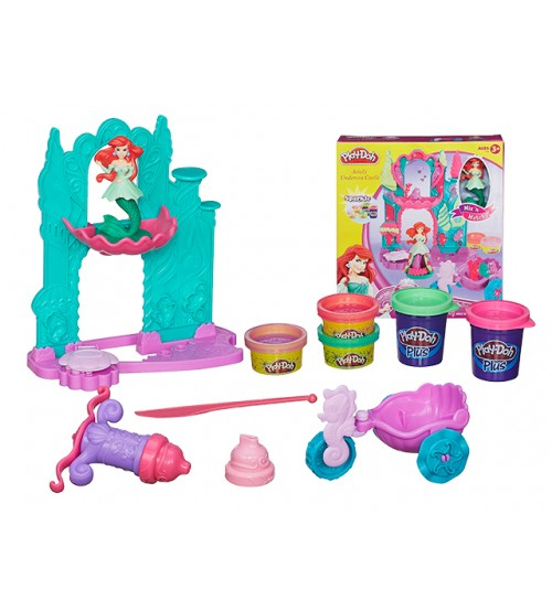 "Набор ""Замок и Карета. Ариэль"" Play-Doh"