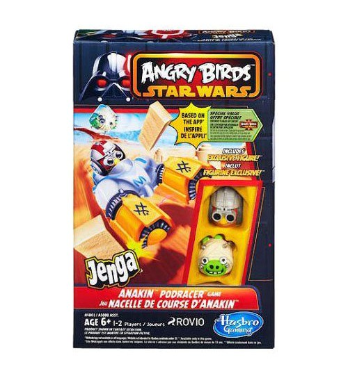 Настольная игра Angry Birds Star Wars II. Anakin Podracer