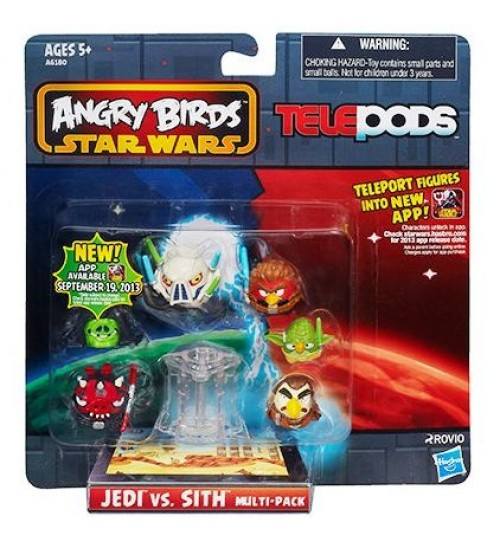 Мульти-набор Angry Birds Star Wars TelePods Джедаи против Ситхов