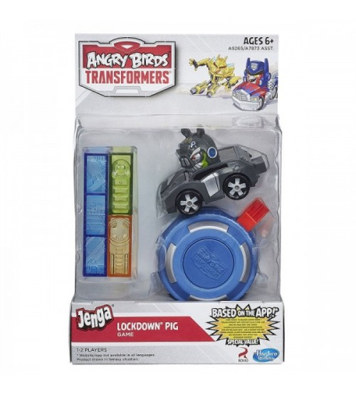 Набор Angry Birds Transformers Jenga (Локдаун) с катапультой