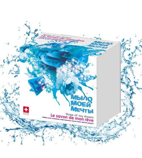 """Научно-познавательный набор для создания мыла """"Голубой"""" малый"""