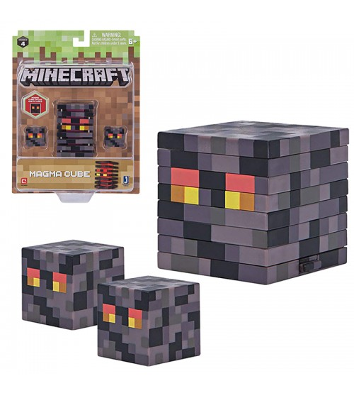 Фигурка Minecraft Magma Cube 8см