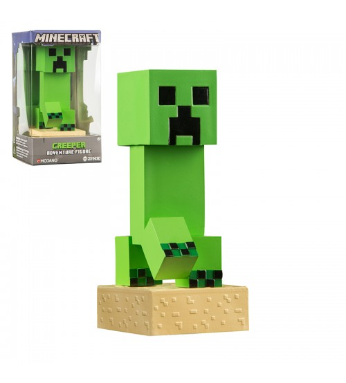 Фигурка Minecraft Adventure Creeper пластик 10см