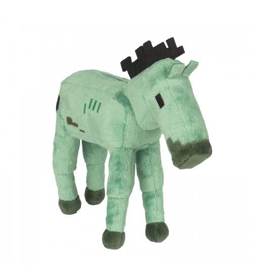 Мягкая игрушка Minecraft Zombie Foal Лошадь-зомби 18см