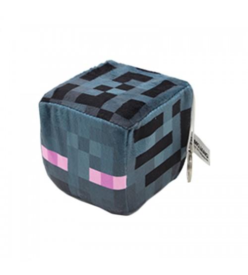 Мягкая игрушка куб Enderman 10см