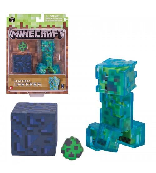 Фигурка Minecraft Заряженный Крипер 8см