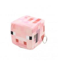 Мягкая игрушка куб Pig 10см