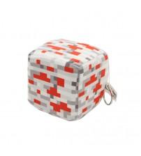 Мягкая игрушка куб Redstone Ore 10см
