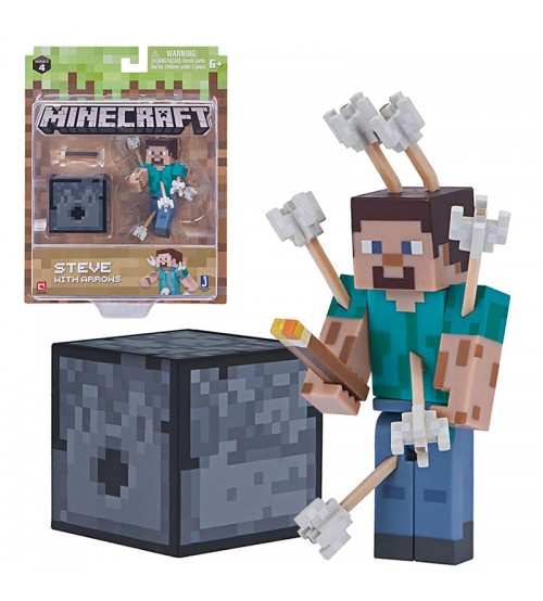 Фигурка Minecraft Steve with Arrows 8см