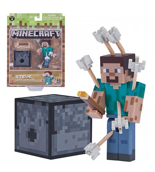 Фигурка Minecraft Стив со Стрелами 8см