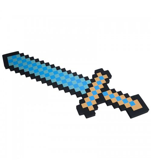 Меч 8Бит алмазный пиксельный серия 2 45см