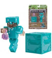 Фигурка Minecraft Steve с Ядом невидимкой 8см