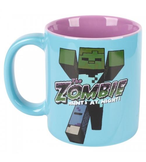 Кружка Minecraft Zombie керамическая 330мл