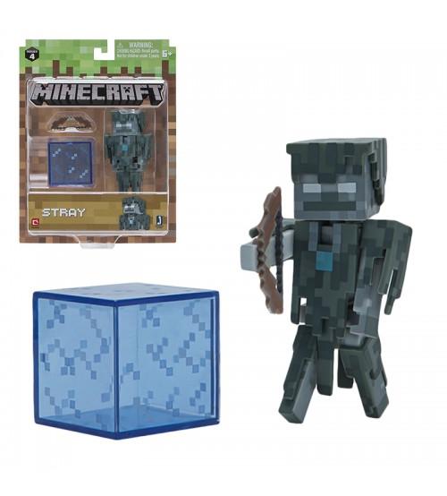 Фигурка Minecraft Stray Зимогор 8см