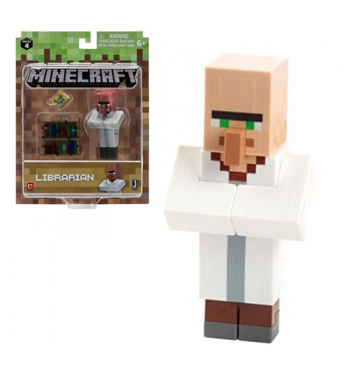 Фигурка Minecraft Villager Librarian 8см