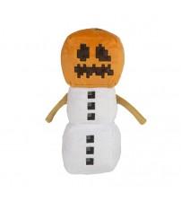 Мягкая игрушка Minecraft Snow Golem Снежный голем 30см