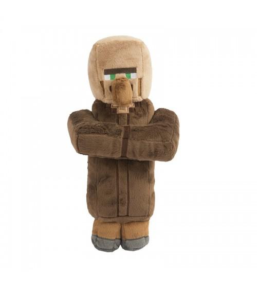 Мягкая игрушка Minecraft Villager Деревенский житель 30см