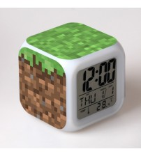 Часы-будильник из блока Земли
