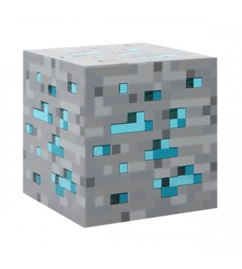 Светильник из руды Minecraft Light-Up Diamond