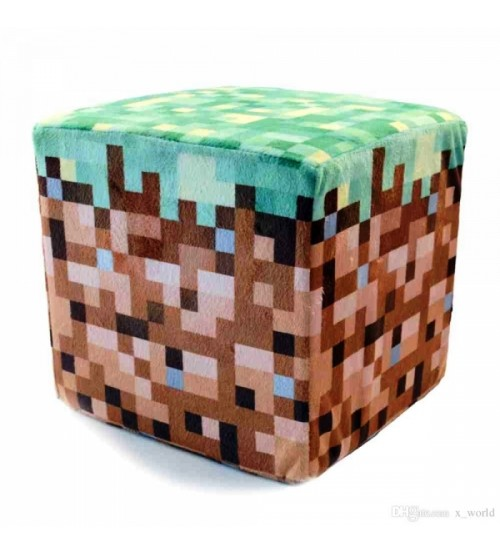 """Плюшевая игрушка """"Блок земли"""" маленький, 10 см"""