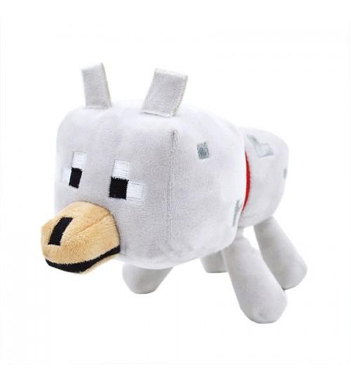"""Плюшевая игрушка Майнкрафт """"Волк"""", 18 см"""