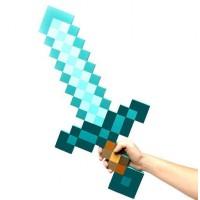 Алмазный меч Майнкрафт 60 см