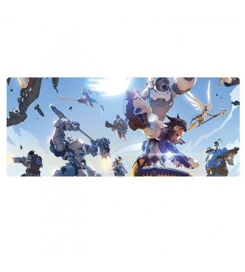 Коврик большой Битва героев Овервотч