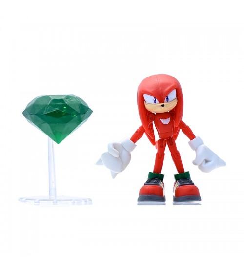 Фигурка Красный Соник с Master Emerald (9см)