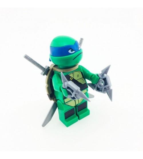 Персонаж мультфильма Черепашки-ниндзя Лео Лего