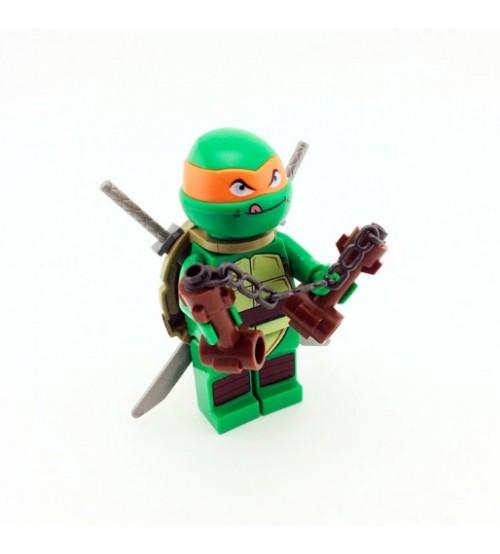 Персонаж мультфильма Черепашки-ниндзя Микки Лего