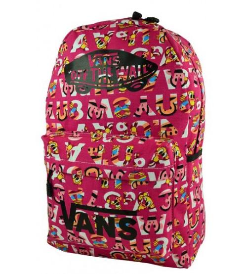 Рюкзак Vans Alphabet, розовый