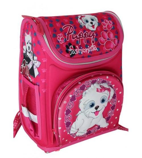Розовый ранец Веселый Пудель