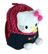 Красный рюкзак с Hello Kitty