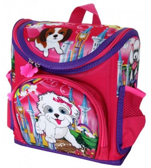 Фиолетовый ранец Любимые мишки