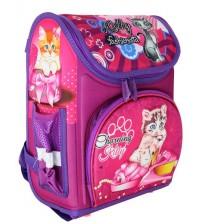 Розовый ранец Добрые котята