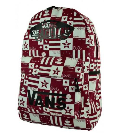 Рюкзак Vans Euro Star, красный