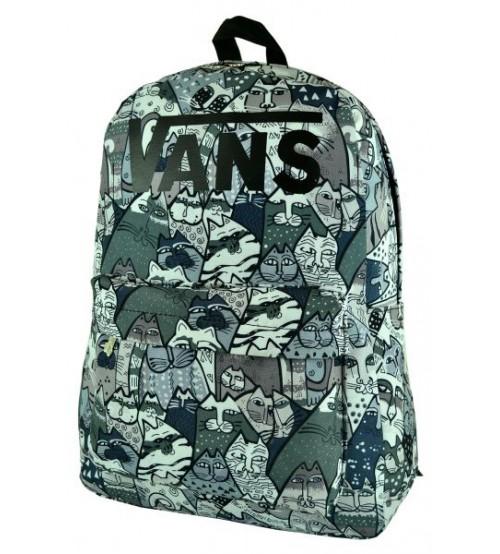 Рюкзак Vans Salvador Dali, серо-зеленый
