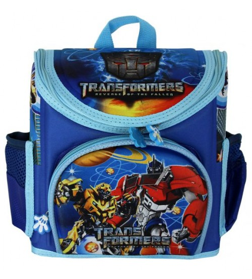 Голубой ранец Трансформеры