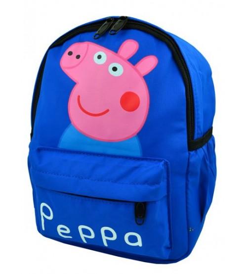 Голубой рюкзак с принтом Свинка Пеппа