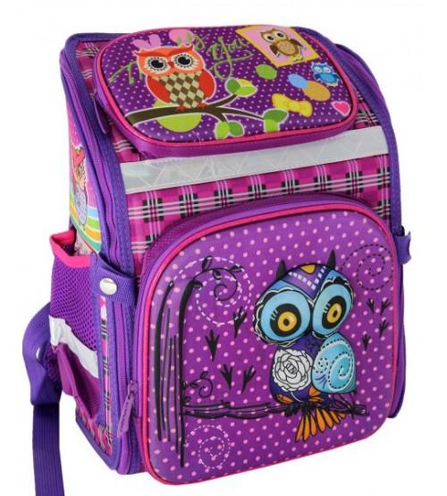 Фиолетовый ранец Красивые Совы